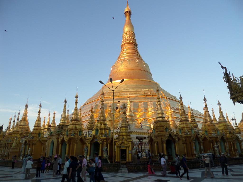 Shwedagon Pagoda sztupája