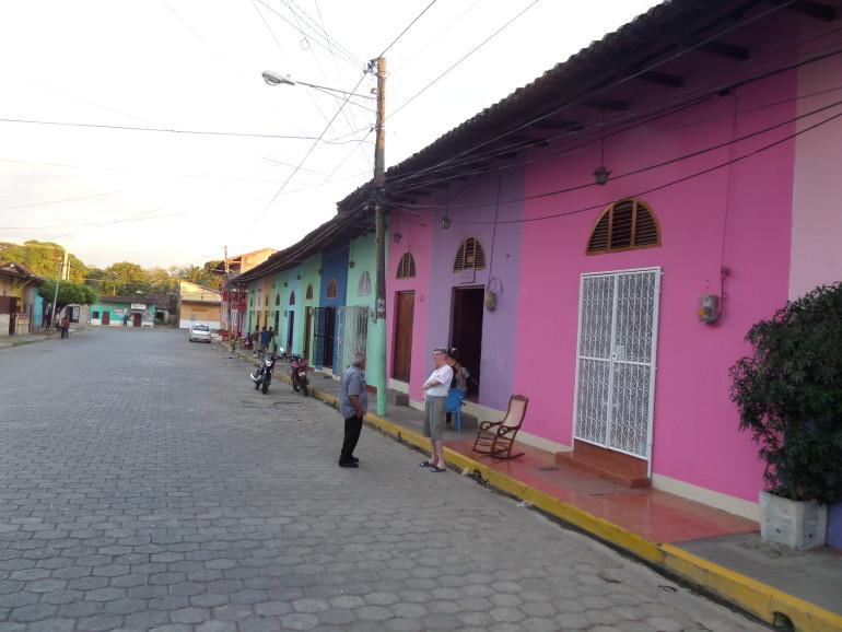 Granadai utcarészlet