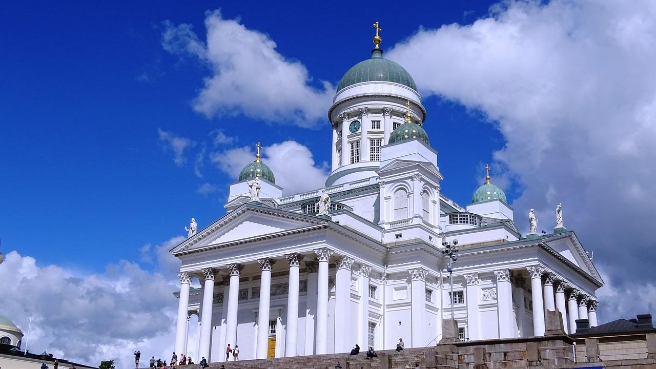 Helsinki, Finland, Dom, Scandinavia, Kirke